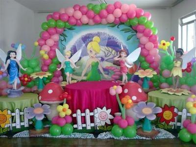 decoração da tinker Bell Decoração Da Tinker Bell