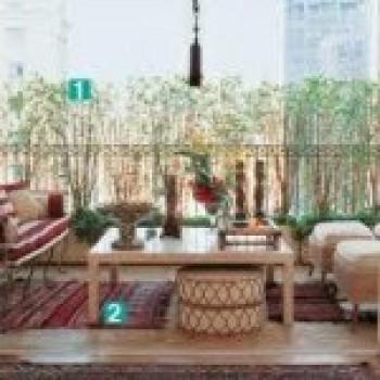 decoração de varanda rustica dicas2 Decoração de Varanda Rústica, Dicas