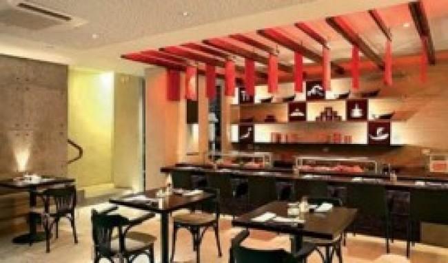 decoração restaurante japonês 8 Decoração Restaurante Japonês