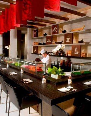 decoração restaurante japonês Decoração Restaurante Japonês
