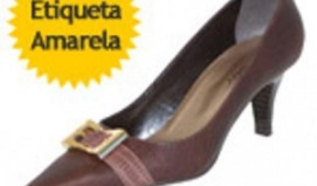 etiqueta amarela2 Sapatos Galinha Morta Preços