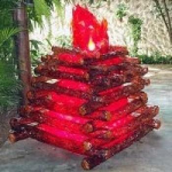 fogueira artificial de festa junina Decoração para Festa Junina na escola