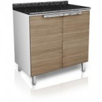 i3 Conjunto de cozinha de madeira Itatiaia   Kit Suprema