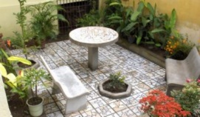jardim de quintal pequeno 8 Jardins Pequenos, Fotos