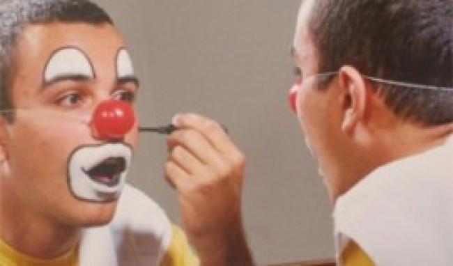 palhaço2 Maquiagem de Palhaço, Passo a Passo