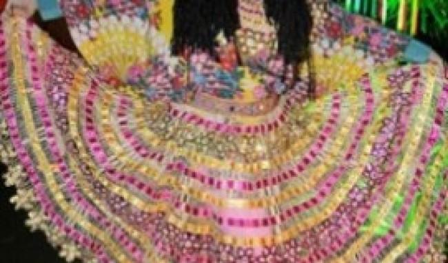 regina casé Vestido de Festa Junina Fashion
