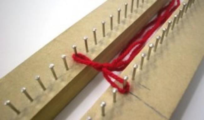 tear de pregos receitas grátis Como fazer um cachecol no tear de pregos