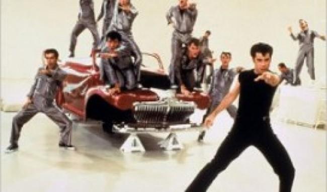 travolta grease carro Dicas de festas de 40 anos