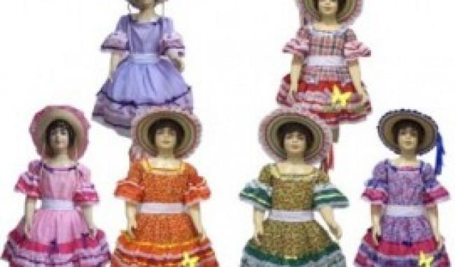 vestido caipira festa junina modelos 2011 8 Vestido Caipira Festa Junina Modelos 2012
