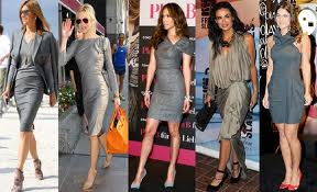 vestido cinza combina com que cor de sapato3 Vestido Cinza combina com que Cor de Sapato