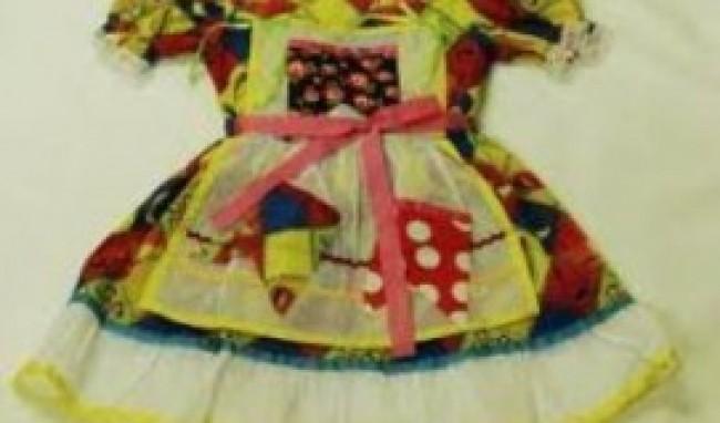 vestido feminino Roupas de Festa Junina Infantil