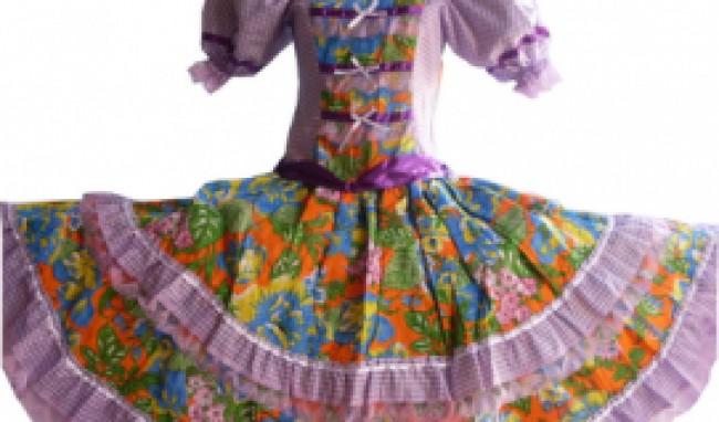 vestido de festa junina 1 Vestido de Festa Junina Fashion