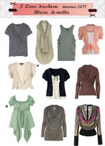 Blusa 2 215x300 Moda Blusas de Frio Inverno 2011