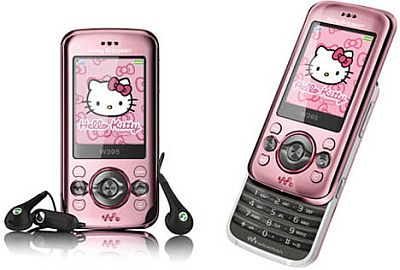 Celular da Hello kitty Sony Ericsson1 Celular da Hello kitty Sony Ericsson