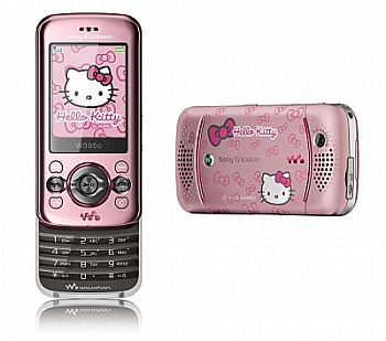 Celular da Hello kitty Sony Ericsson2 Celular da Hello kitty Sony Ericsson