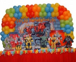 Decoração Transformers Infantil 300x246 Decoração Transformers Infantil