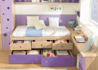 Decora o de quarto feminino infantil dica - Soluciones para pisos pequenos ...