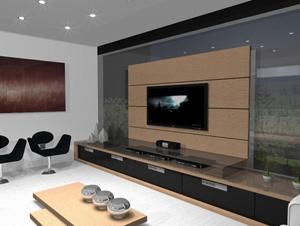 Dicas de decoração para sala de TV 2 Dicas de Decoração para Sala de TV