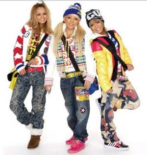 hip-hop одежда для девушек: