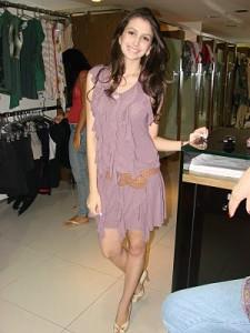 Vestido 2 225x300 Vestidos de Malha com Babados