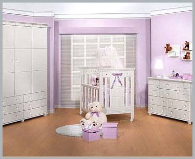 cor quato de bebe 10 Decoração de Quarto de Bebe Simples