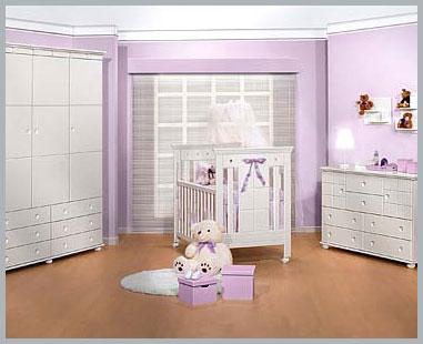cor quato de bebe 10 Decoração de Quarto de Bebe Simples