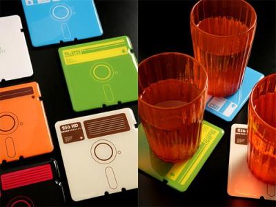 decoração com disquetes 1 Decoração Com Disquetes