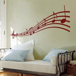 decoração com notas musicais 2 300x300 Decoração Com Notas Musicais