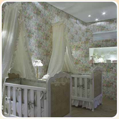 decoracao slide 5 Decoração de Quarto de Bebe Simples