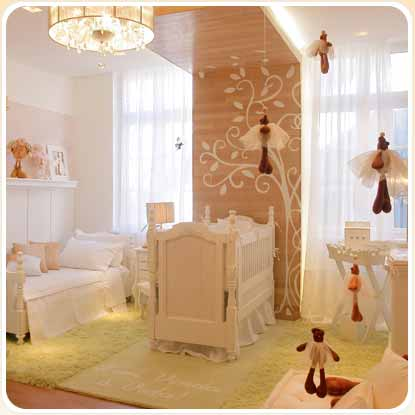 decoracao slide 6 Decoração de Quarto de Bebe Simples