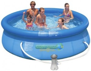 intex piscinas inflaveis preços onde comprar 300x235 Piscinas de Plástico Preços e Onde Comprar