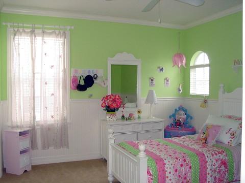 quarto de menina Dicas de Cores para Quartos Infantis