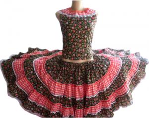 vestido de festa junina adulto 300x238 Saias Para Festa Junina, Dicas